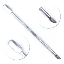 New Stainless Steel Remover Manicure Care Tool Cuticle Nail Art Pusher Tools
