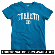 Toronto 416 T-shirt - Baby Toddler Youth Tee - ON Ontario Canada T-Dot Blue Jays