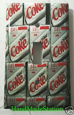 Diet Coke Light Switch Outlet Cover Plate Home Decor