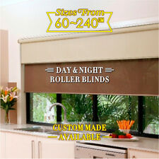 Custom Made Dual Day& Night Roller Blinds - AUS Made TOP QUALITY!