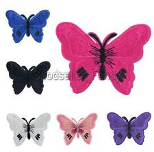 Multi Butterfly Embroidered Applique Iron On Sew Clothes Patch DIY Accessories