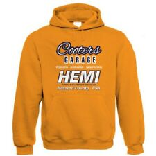Cooters Garage, Mens Hemi Muscle Car Hoodie - Birthday Gift for Him Dad