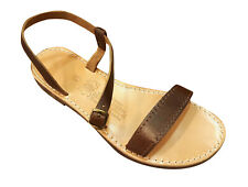 New Ancient Greek Style Womens Sandals Genuine Leather Gladiator Spartan Shoes