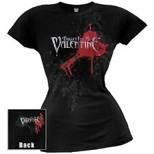 Bullet For My Valentine Pierced Through Junior Girlie Shirt SM, MD, LG, XL New