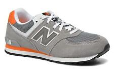 Kids's New Balance KL574 J Low rise Trainers in Grey
