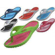 Women's Sport Sandals Thongs Indoor/Outdoor Beach Pools Flip Flops Sz 6 - 11