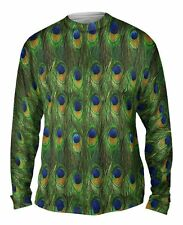 Yizzam- Peacock Feathers - New Mens Long Sleeve Tee Shirt XS S M L XL 2XL 3XL 4