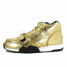 Nike Air Trainer 1 PRM QS NFL [840169-700] NSW Training Superbowl SB50 Gold/Blck