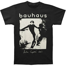 Bauhaus Men's  Bela Lugosi's Dead Slim Fit T-shirt Black Rockabilia