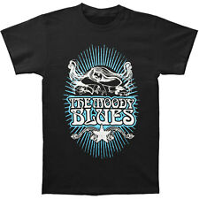 Moody Blues Men's  Classic Rays T-shirt Black Rockabilia