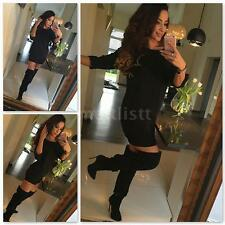Women Lace Short Sleeve Party Cocktail Evening Bodycon Summer Mini Dres I7R1