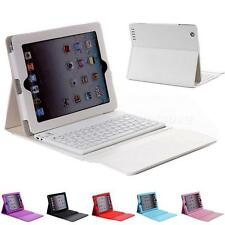Wireless Bluetooth Keyboard Leather Case Cover For Apple iPad Air Air 2 HYDG