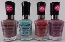 WET N WILD Megalast Salon Nail Color Polish, Choose Color - Hard to Find Colors
