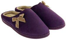 Ladies Coolers Premier Comfort Slippers Womens Cosy Warm Lined Slipper Mules