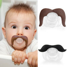 Hot Creative Baby Infant Pacifier The Cowboy The Gentleman Binkie Mustache Beard