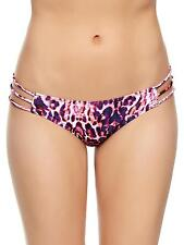 Ann Summers Womens Print Tai Animal Bikini Bottom Sexy Swimwear Beach Swimsuit