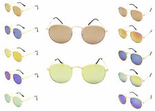 Oval Circle Round Hippie Vintage Retro Fashion Sunglasses UV400