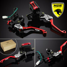 "MZS 7/8""(22mm)Brake Clutch Levers Master Cylinder Reservoir For KTM 250SX/XCW"
