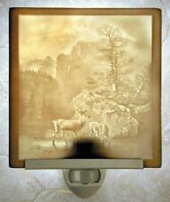 Serenity - Deer Porcelain Lithophane Night Light