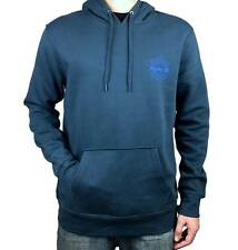 HURLEY Mens Pull Over Jumper. Grey / Blue. Mens Size: Small, Medium, Large.