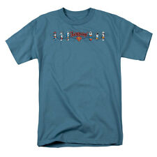 Superman Men's  Skateboard Supes T-shirt Slate Rockabilia