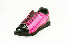 NEW WOMENS PRANCER BOWLING SHOES BK/PINK ALL SIZES IN STOCK ++ FREE SHOE COVERS