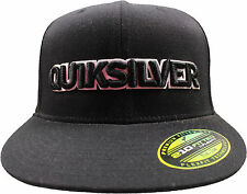 Quiksilver Dirty Bird (7 1/4-7 5/8) Fitted Hat Black