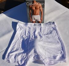 Mens Underwear Calvin Klein Boxer Brief White Classic Fit... NWT