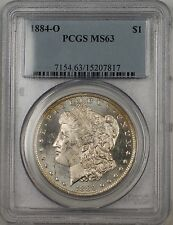 1884-O Morgan Silver Dollar $1 PCGS MS-63 Better Coin Proof Like (BR-16 Q)