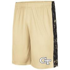 Mens NCAA Georgia Tech Yellow Jackets Basketball Shorts [10209]