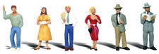 Woodland Scenics HO Scale Scenic Accents Figures/People Set Pedestrians (6)