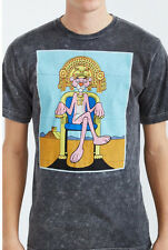 PINK PANTHER On Throne Mineral Washed Tee NEW Licensed & Official