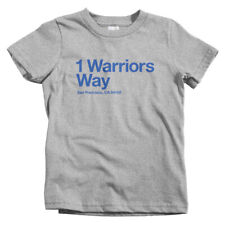 Golden State Basketball Stadium Kids T-shirt - Baby Toddler Youth Tee - Warriors