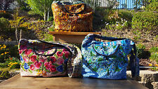 Guatemala hobo bags embroidered huipiles peach,aquas & earth tones combos