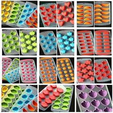 Silicone Ice Ball Cube Tray Freeze Bar Jelly Pudding Chocolate Mold Maker fs