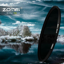 Zomei 49/52/55/58/62/67/72/77/82mm 720nm IR Infrared filter for Canon Nikon