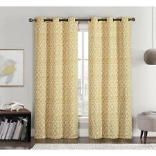 VCNY Amadora Grommet Top 210cm Curtain Panel Pair. Shipping Included