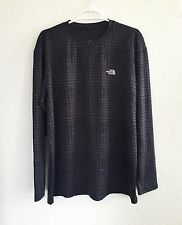 The North Face Large Black Long Sleeve Men's Shirt Athletic XL