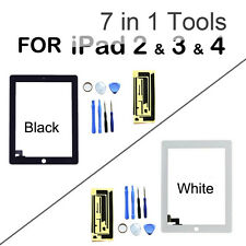 NEW Front Glass Touch Screen Lens Premium Digitizer Replacement for iPad 2 3 4