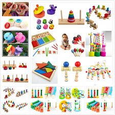 Kids Child Wooden Numbers Intellectual Early Learning Counting Educational Toy