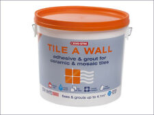 Tile A Wall Adhesive & Grout for Ceramic & Mosaic Tiles 5  Litre Tile...
