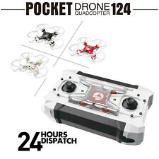 RC Quadrocopter FQ777 Pocket Drone 4CH 6Axis Gyro RC Helicopter Mini Drones