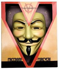 V For Vendetta Mask Collector's Edition Adult Licensed 3700 Rubies New