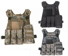 Airsoft Nylon Tactical Vest Combat Paintball CS Assault Army Military Waistcoat