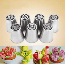 New Russian Icing Piping Nozzles Tips Cake Decorating Sugarcraft Pastry Tool XJ