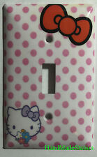 Hello Kitty Red Bow Light Switch Power Outlet Cover Plate Home decor