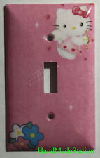 Hello Kitty cupid shoot arrow Light Switch Power Outlet Cover Plate Home decor
