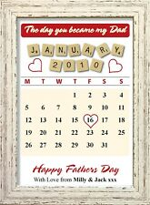 The Day You Became My Dad Fathers Day Keepsake Personalised Gifts Shabby Chic #2