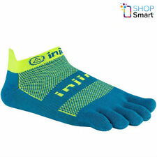 INJINJI PERFORMANCE RUN TOE SOCKS NO SHOW ORIGINAL ELECTRIC BLUE FIVEFINGERS NEW