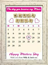 The Day You Became My Mum Mothers Day Keepsake Personalised Gifts Shabby Chic #2